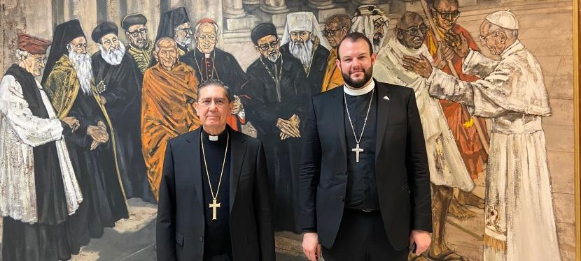 Methodist Representative Meets Vatican's Interreligious Dialogue Council President on 19 February2021