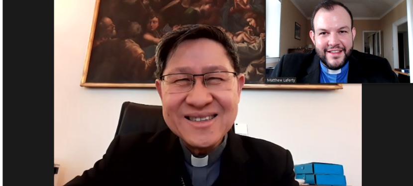 ENCOUNTER – MEOR Director Meets H.Em. Cardinal Luis Antonio Tagle on 16March