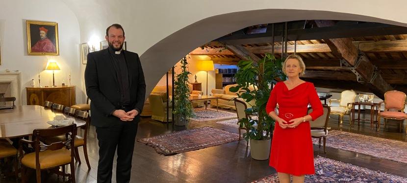 ENCOUNTER – Methodist representative meets Ambassador Sally Axworthy on 8 March2021