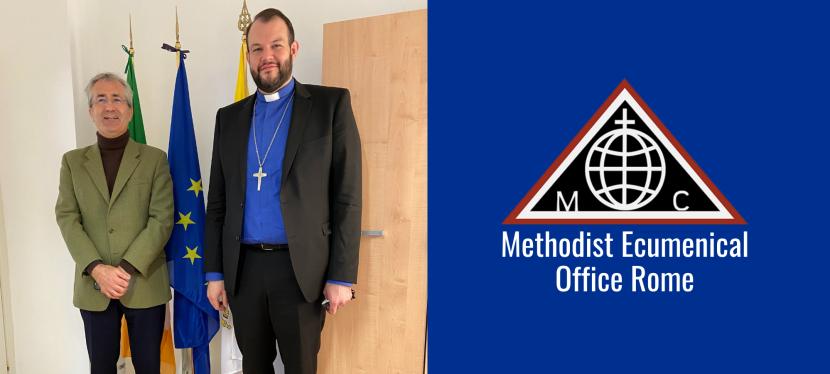 ENCOUNTER – Methodist Representative meets H.E. Derek Hannon, Irish Ambassador to the HolySee