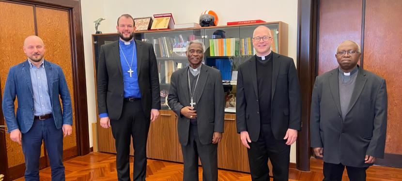 ENCOUNTER – MEOR Director Meets H.Em. Cardinal Peter Turkson on 24March