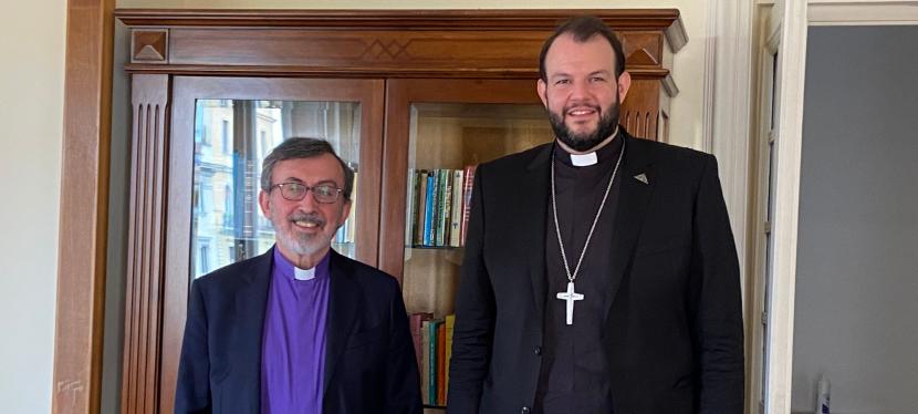 ENCOUNTER – Methodist Representative Meets Armenian ChurchRepresentative
