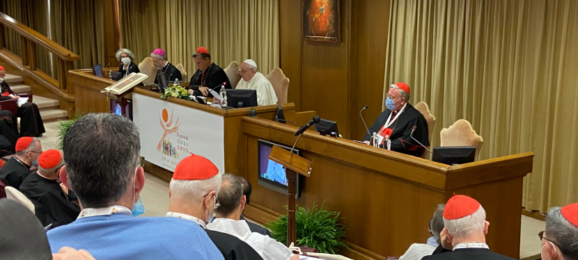 DIALOGUE – MEOR Director Participates in Opening of Synod onSynodality